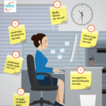 Infographic: ท่านั่งพิชิต Office Syndrome