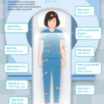 Infographic: ส่วนต่างๆ ของร่างกายที่สามารถตรวจได้ด้วย MRI